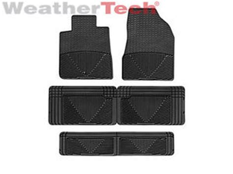 Buick Enclave Mats by Weathertech 174 All Weather Floor Mats Buick Enclave 2008