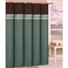 aqua and brown shower curtain 1000 images about brown aqua bathroom on