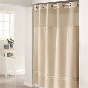 Hookless 174 escape 71 inch x 74 inch fabric shower curtain and shower