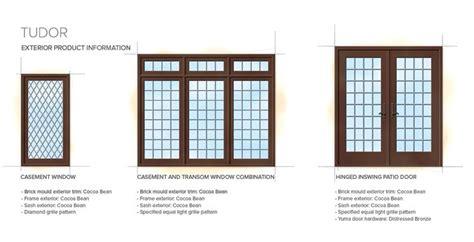 tudor style windows tudor home style exterior window door details ucc