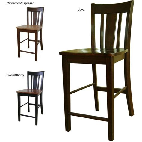 Counter Stool 24 Inch Seat Height by San Remo 24 Inch Counter Height Stool Overstock Shopping