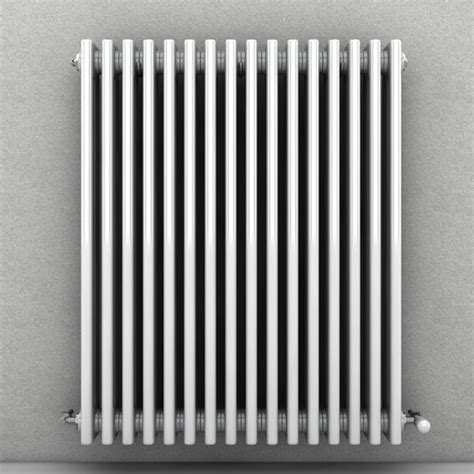Wall Radiator Heater C4d Wall Radiator Heater