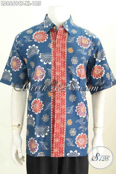 desain baju batik bagus baju batik bagus murah untuk pria kemeja lengan pendek