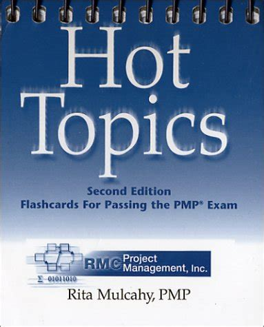 mulcahy s topics flashcards for passing the pmp and capm exams topics flashcards for passing the pmp by