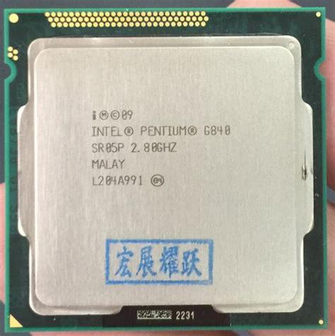 Processor G840 Lga 1155 28 Ghz New Tray promoci 243 n de intel pentium g840 compra intel pentium g840 promocionales en aliexpress