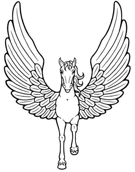 mythical creatures coloring pages patterns pinterest pegasus mythical creatures coloring pages colouring