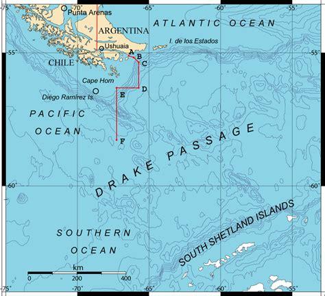 south america map passage passage