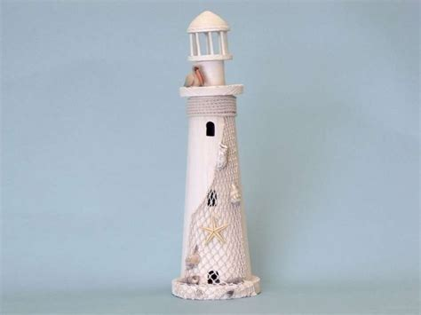 Cheap Lighthouse Decor by Wholesale Pelican Wooden Lighthouse 18 Inch Wholesale