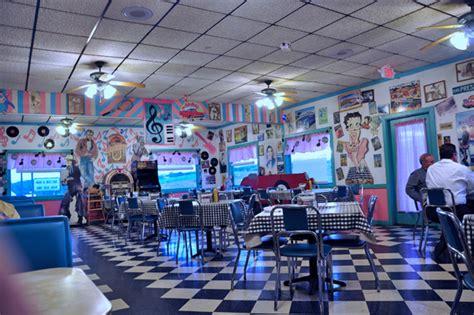 pink cadillac diner bridge the cadillac cafe