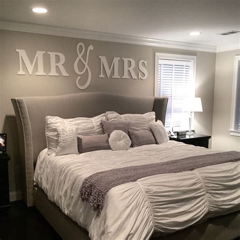 home decor beds mr mrs wall sign above bed decor mr and mrs sign for