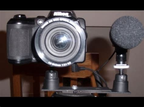 camera external microphone jack mod youtube