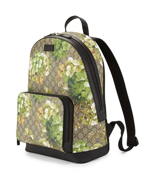 Backpack Gucci Gd 1 gucci gg blooms canvas backpack lyst