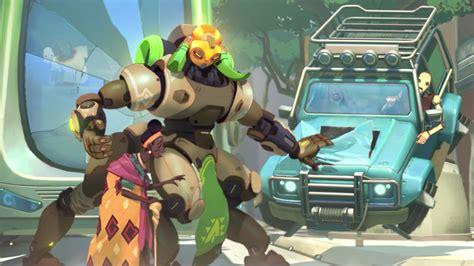 overwatchs  hero orisa   skins emotes