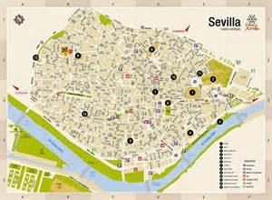 Seville Spain Map by Map Of Seville Spain Imsa Kolese