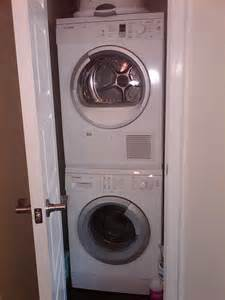How to troubleshoot a frigidaire stackable washer dryer interior