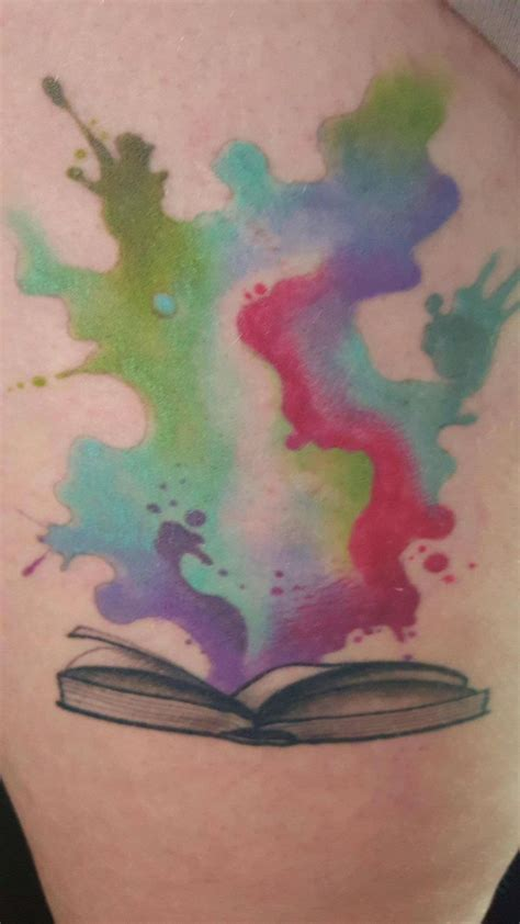 watercolor tattoo quill 427 best books on bods images on book
