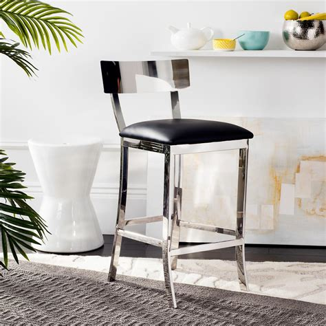madelyn counter stool stone wash fog velvet grey kitchen bar stools kitchen dining room furniture the home depot