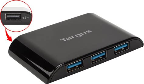 Usb Hub Targus 4 Port Usb 2 0 4 port usb 3 0 superspeed hub ach119us black hubs