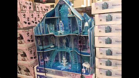 disney frozen doll house disney frozen snowflake mansion dollhouse includes 20 pieces of furniture youtube