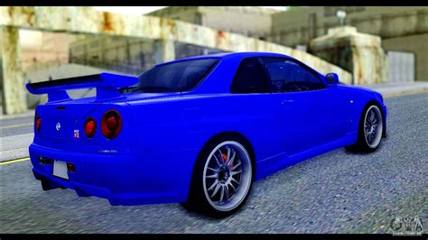 nissan skyline fast and furious 4 nissan skyline gtr r 34 from fast and furious 4 para gta