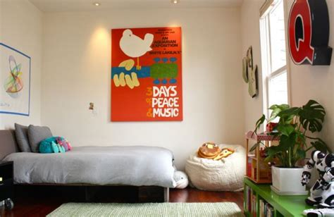 Posters For Bedroom | vintage posters to decorate modern interiors