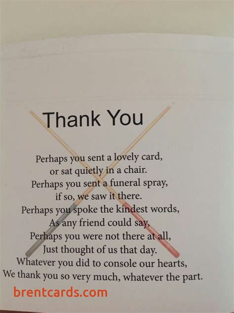 thank you letter after the funeral how to write a thank you card after a funeral free card