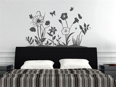Wandtattoo Blumenwiese
