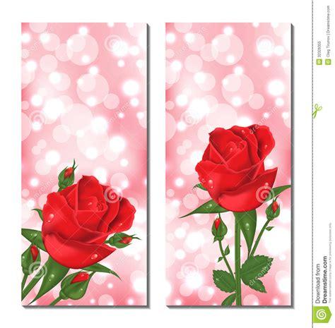 imagenes tarjetas rojas sistema de tarjetas hermosas con las rosas rojas