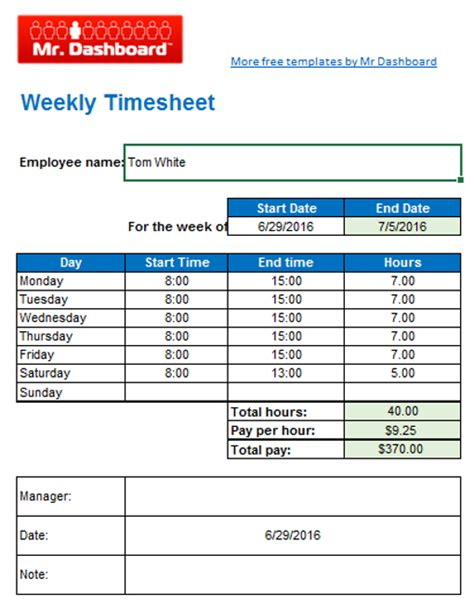 hourly timesheet template excel monthly timesheet template excel