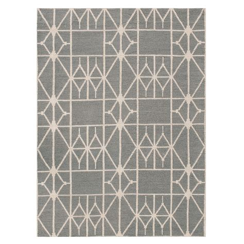Patterned Rugs Modern Linie Design Meta Grey Rug Patterned Rugs Rugs Living Room Heal S R U G S