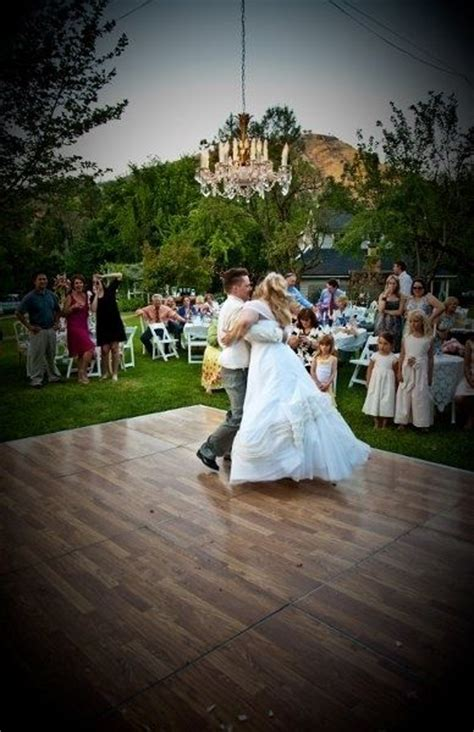 backyard wedding dance floor how to throw a perfectly organized diy wedding in your