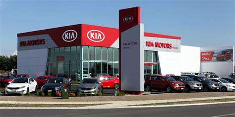 Kia Car Lot A Brand New Kia Dealership For Hamilton 183 New Suvs Cars