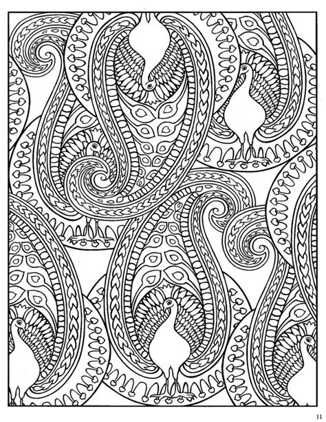 coloring book designs dover paisley designs coloring book paisley