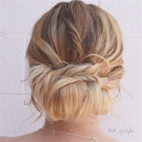 bridal hairstyles loose bun 25 best ideas about loose buns on pinterest loose bun