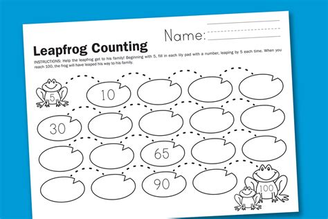 printable math worksheets counting by 5 count by 5 worksheets to print activity shelter