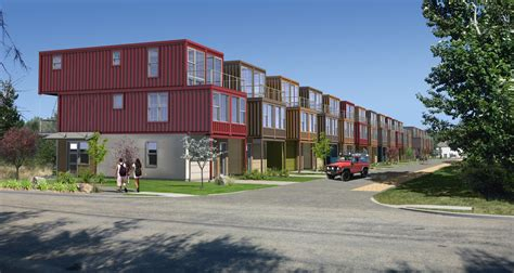Shipping Container Apartments Developer Uses Cargo Shipping Containers For Houses Ktvb