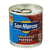 san marcos chipotle peppers  adobo sauce shop