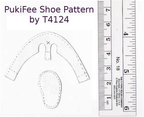 american shoe pattern pukifee shoe pattern photo next to it doll shoes