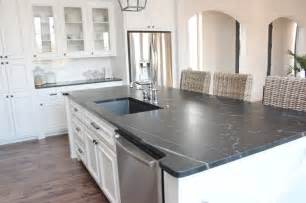 island in soapstone kitchens