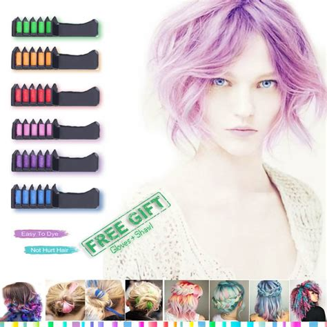 best temporary hair color for kids hair color fashion styles best hair coloring products hair chalk temporary bright