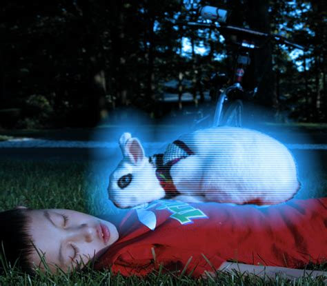 The Holographic Bunny By Wiiman999 The Holographic Bunny By Wiiman999 On Deviantart