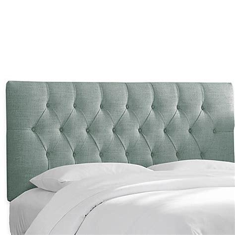 Upholstery Fabric Headboard Skyline Furniture Bishop Headboard With Linen Blend