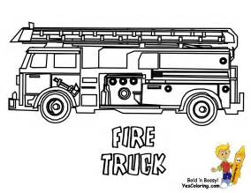 01 Fire Truck Coloring At Pages Book For Kids Boysgif sketch template