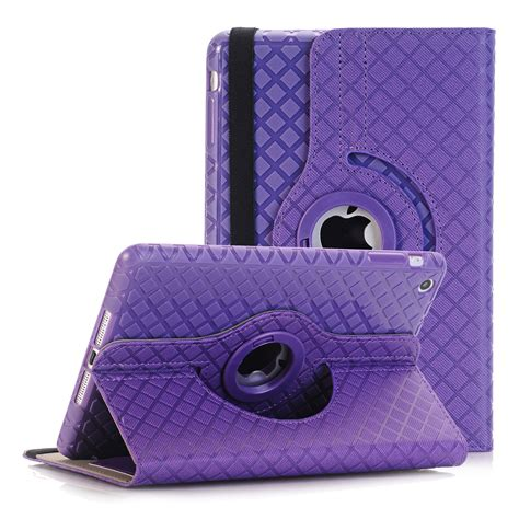 2 3 4 360 Rotating Leather Smart for apple mini 2 3 4 air 360 rotating leather