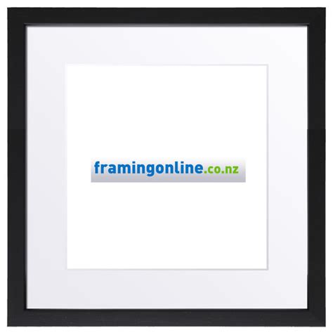 Black Frames With White Matting by 5 Quot X5 Quot Square Black Frame 406 White Mat 5x5 Quot Square