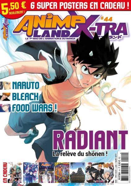 Anime Land by Animeland X Tra N 44 Janvier Fevrier Mars 2017 Books