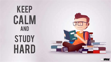 study wallpaper hd  calm  study hard insbright