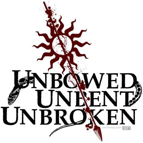 unbroken tattoo unbowed unbent unbroken house martell of thrones