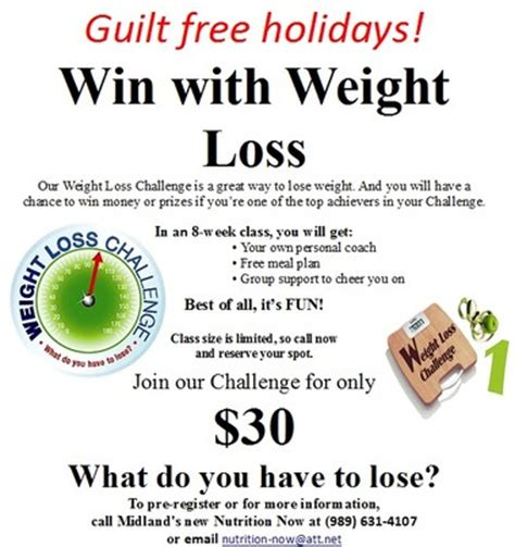 weight loss challenge flyer template loser weight loss program at work