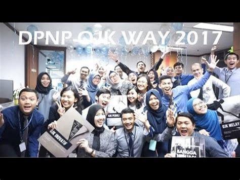 Ojk Way project 15 dpnp ojk way 2017